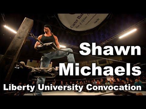 Shawn Michaels - Liberty University Convocation