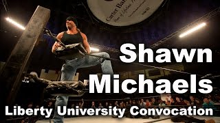 Shawn Michaels - Liberty University Convocation