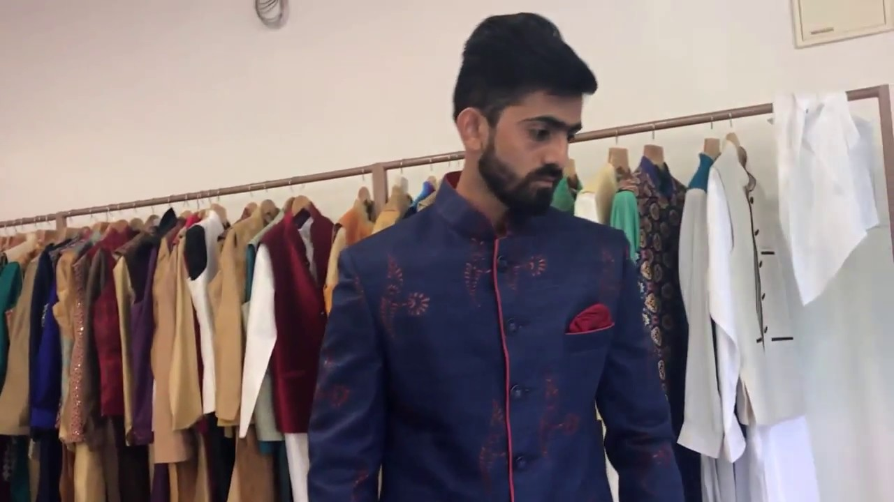 f00cdef11 Indo Western for Groom | Sherwani for Wedding on Rent | Jodhpuri suits for  Wedding: Mens Ethnic Wear