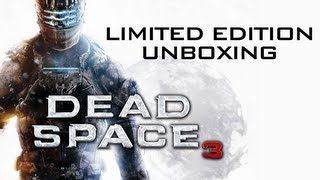 Dead Space 3 Limited Edition (Xbox 360) Release Day Unboxing