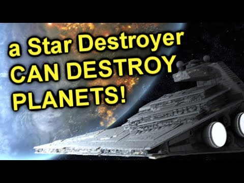 How can a Star Destroyer DESTROY A PLANET?!  SWLORE#34