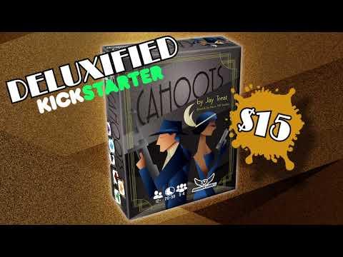 Cahoots 3-4 Player Trick Taking Game Kickstarter Video