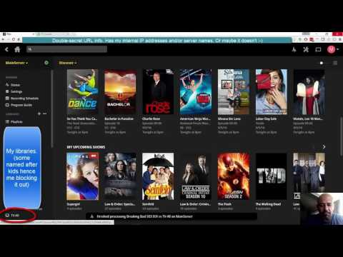 Plex DVR setup/walkthrough, and comparison to SageTV