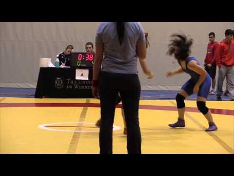 2013 Wesmen Duals: 51 kg Kate Richey vs. Nichole Kinzel