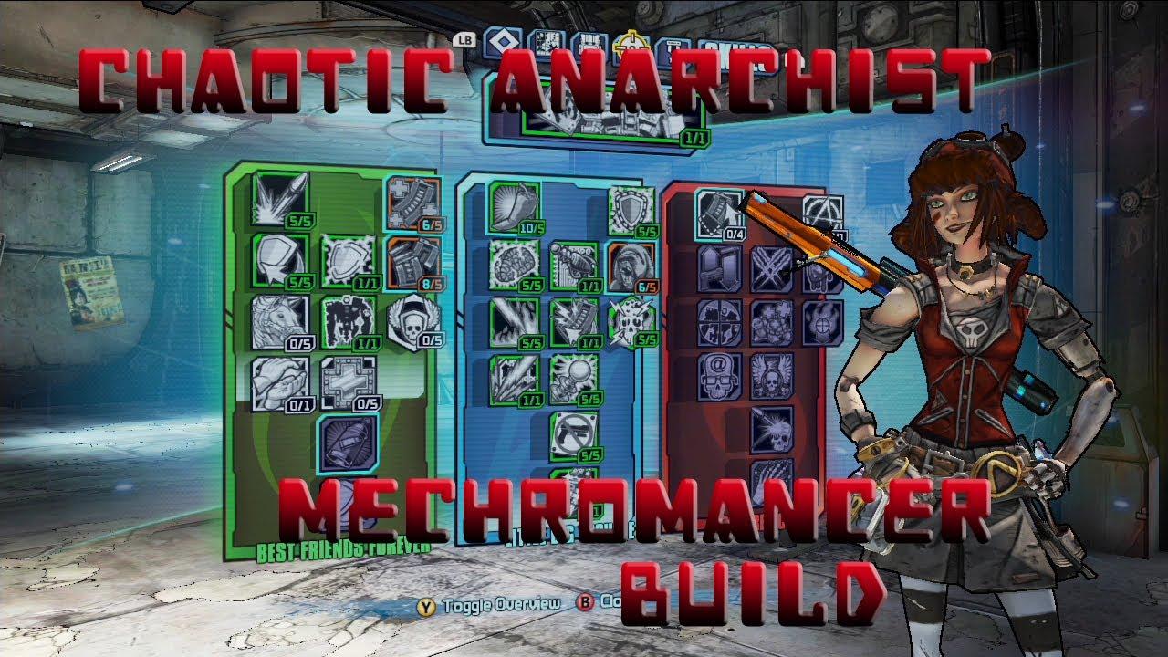 Build Borderlands