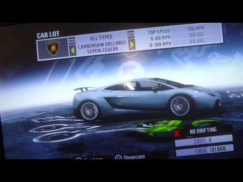 NFS Prostreet Secret Cars PS3