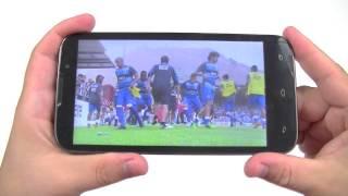 Просмотр видео на iconBIT NetTAB Mercury Quad