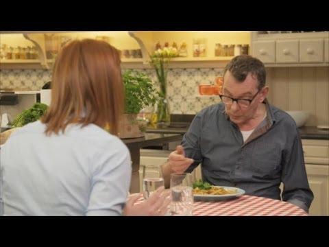 Gefrituurd eitje met vanillepap | De Keuken van Sofie | VTM Koken