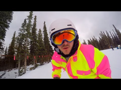 FIRST DAY OF THE SNOWBOARDING SEASON!