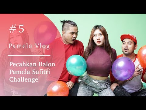 #PAMELAVLOG5 - PECAHKAN BALON PAMELA SAFITRI CHALLENGE thumbnail