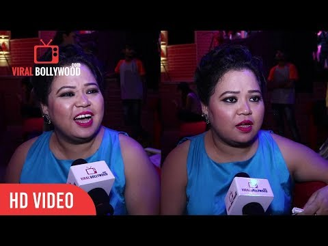 Exclusive Interview With Bharti Singh At Comedy Dangal Show Launch