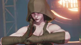 Street Fighter 5 mods Juri halloween over Chun li