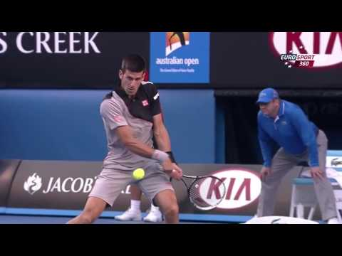 2014 - Australian Open - QF - Stan Wawrinka b Novak Djokoviс 6/2 - 6/4 - 6/2 - 3/6 - 9/7