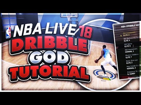 😱🧀🎬 HOW TO DO THE CHEESIEST HOP STEP IN NBA LIVE 18 & BECOME A DRIBBLE GAWD INSTANTLY WTFFFFFFF