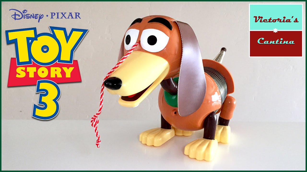 Slinky TOY STORY 3 Slinky Dog Pull Toy Review - YouTube