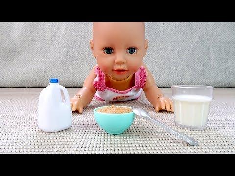Как МАМА и Беби Анабель Учится Ходить После Дневного Сна #Куклы Пупсики 108мама тиви