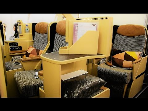Etihad Airways A330 Business Class Nagoya to Beijing