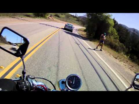 First full day on Motorcycle, Malibu (Part 1)