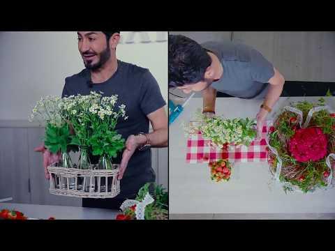 Strawberry inspired DIY