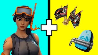 20 BEST COMBOS For The Snorkel Ops Skin In Fortnite! Snorkel Ops Best Back Bling Combos!