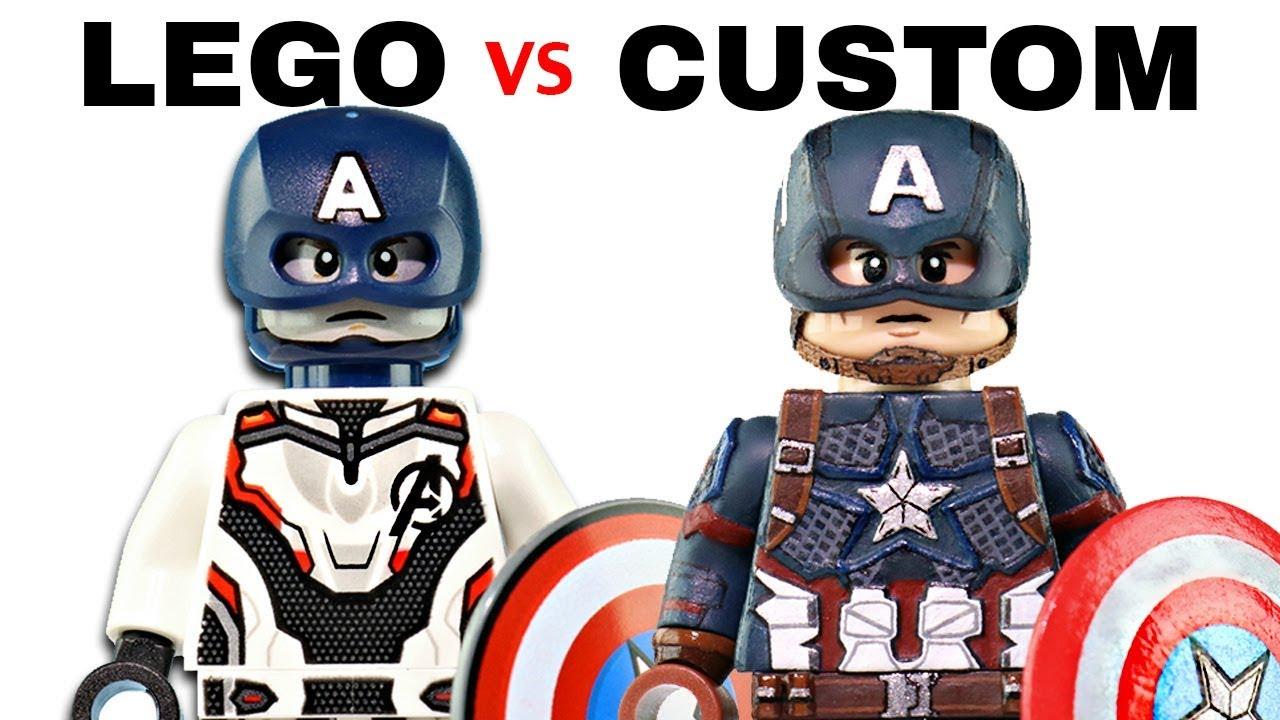LEGO AVENGERS ENDGAME : Official Minifigs vs  Customs - EP1