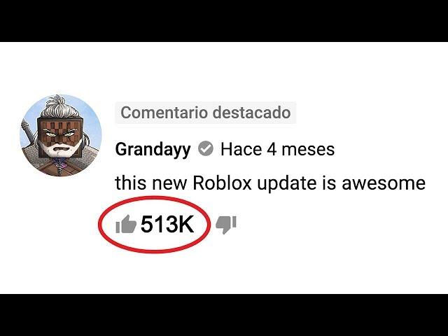 ¿Cuál es el comentario con más likes en Youtube? (PyR)