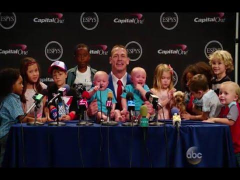 ESPYS 2016 - John Cena Press Conference Kid Expert