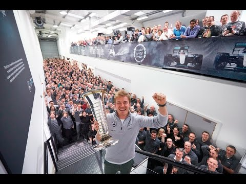 Nico Rosberg Returns to Brackley as F1 World Champion