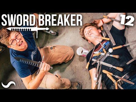 MAKING THE SWORD-BREAKER!!! PART 12