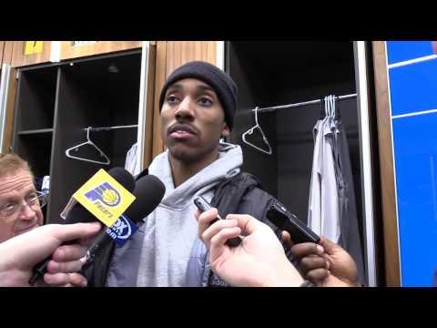 Postgame: Pacers Locker Room - Jan. 5, 2017
