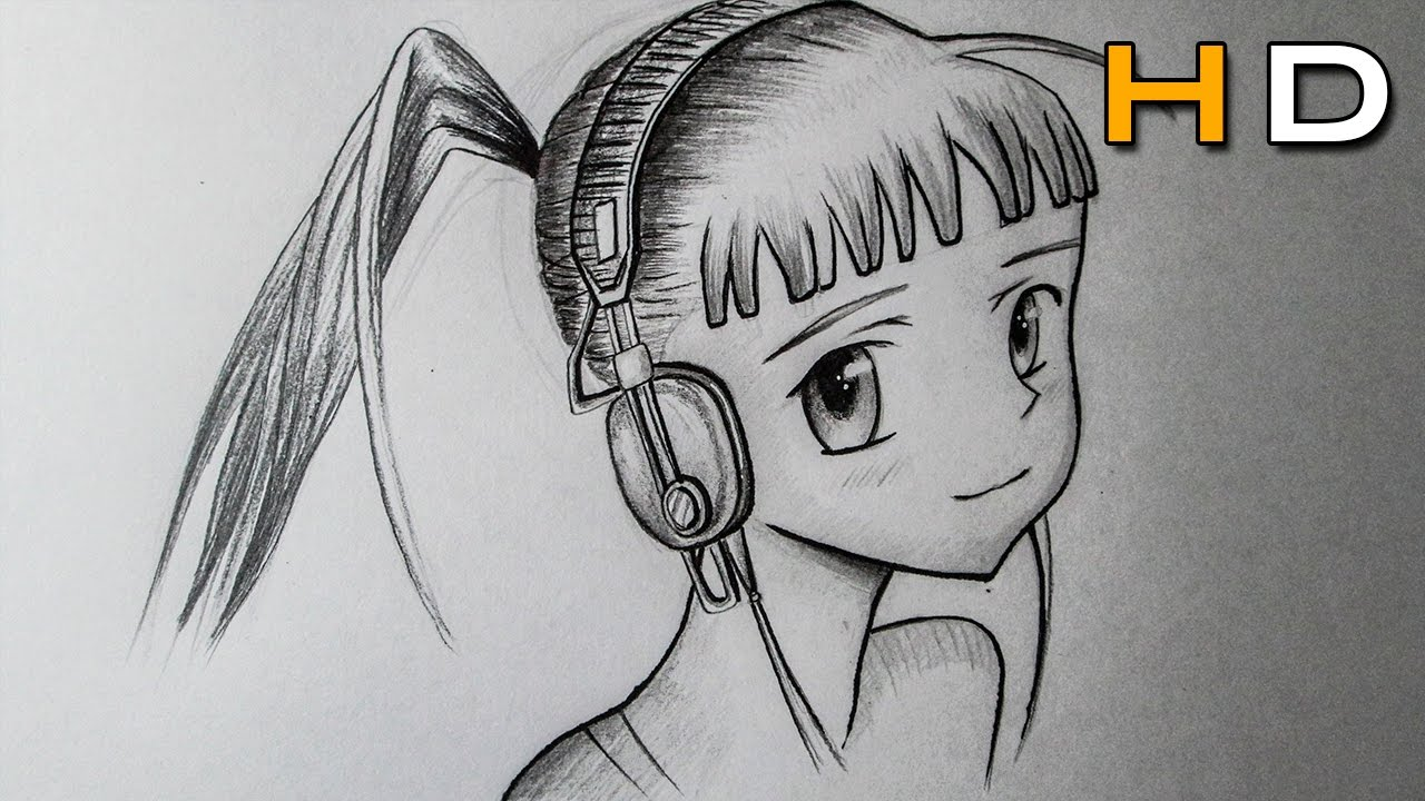 How To Draw A Manga Face Female For Beginners