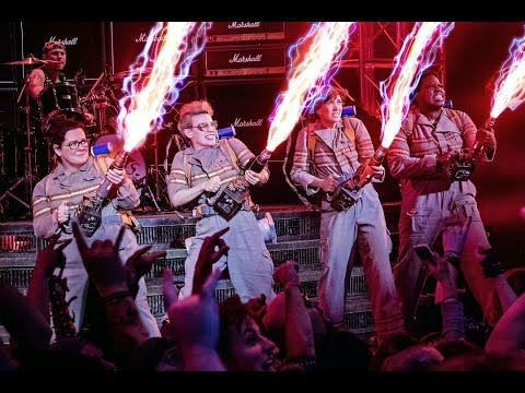 Ghostbusters and Leslie Jones