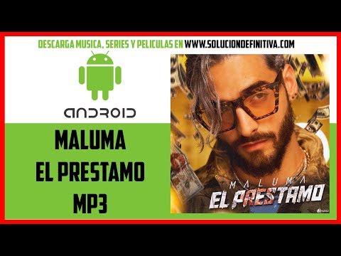 Maluma - El Prestamo (Descargar Cancion MP3) Gratis