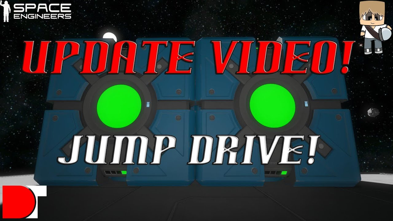 space engineers how to use jump drive