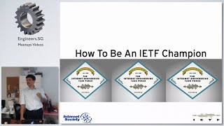 RFCs and Forming an IETF SG Chapter - HackerspaceSG Geekup