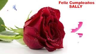 Sally - flowers - Happy Birthday