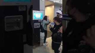 Hoàng Kì Lâm quan tâm fan [sân bay Thượng Hải đi Thâm Quyến] [080417]