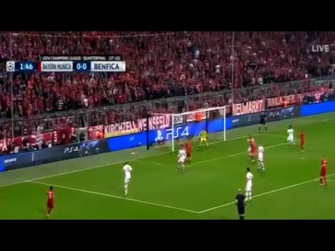 Video Gol Hasil Liga Champions Bayern vs Benfica