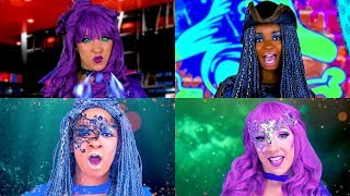 Rap Battle Descendants 2 Uma vs Mal  Music Video Totally TV