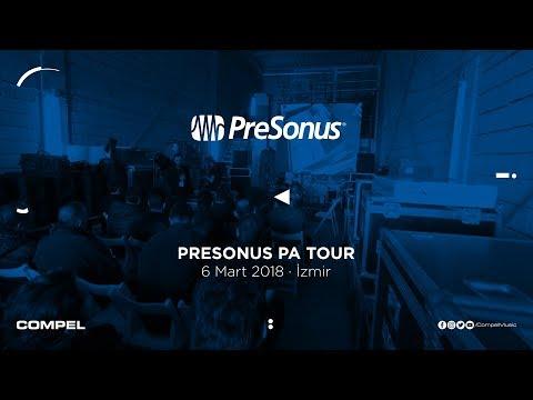PreSonus PA Tour · İzmir