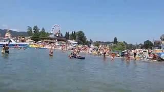 Классный пляж на Черном море Архипо-Осиповка 2016(Я всем советую посетить пляж на Архипо-Осиповка. Природа море просто Класс. Море чистое как слеза., 2016-07-20T18:43:16.000Z)