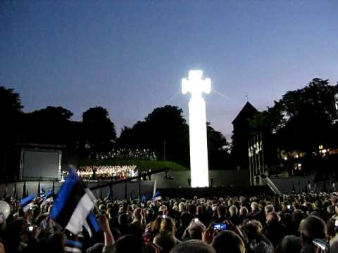 Unveiling of the Estonian Liberty Statue