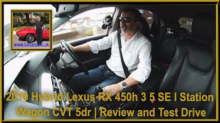 Review and Virtual Video Test Drive in our Hybrid Lexus RX 450h 3 5 SE I Station Wagon CVT 5dr