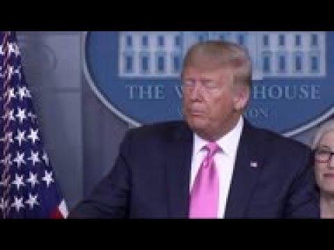 Trump: Doesn't Think Virus Spread 'inevitable'