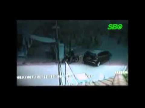 TERUNGKAP !!! Video CCTV Full Honda Jazz TABRAK  Siswa dan Guru