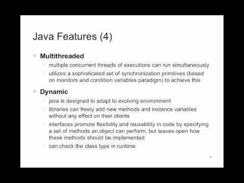 Java Programming - Lecture 1 - YouTube
