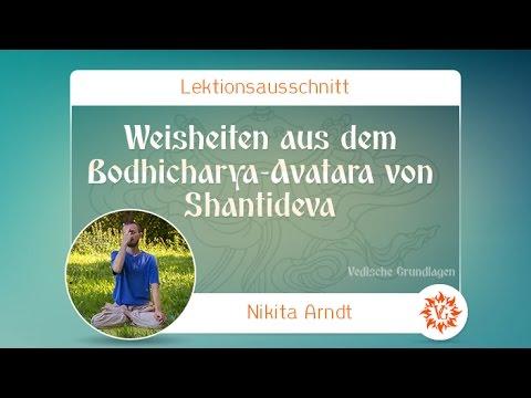 Weisheiten aus dem Bodhicharya-Avatara von Shantideva (mit Kommentar) - Yoga Camp Aura 2016