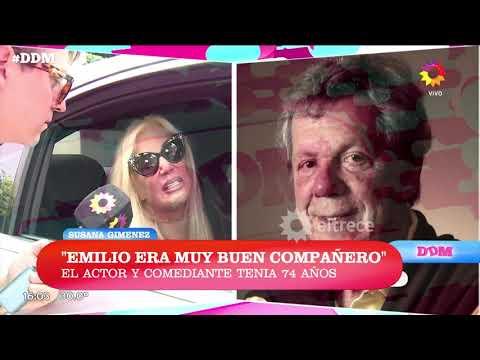 Susana Giménez habló tras la noticia de la muerte de Emilio Disi