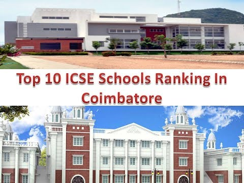 Top 10 ICSE Schools Ranking In Coimbatore