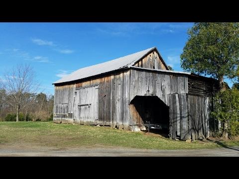 Old Barn Tour on our Family Farm